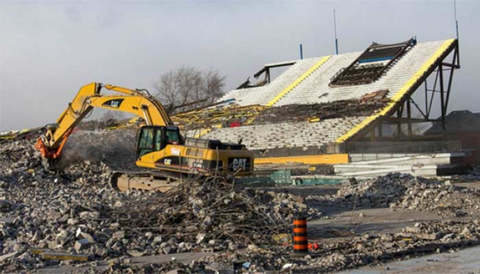 Stadium Demolition