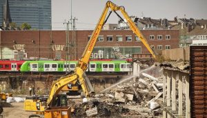 building demolition in Phoenix