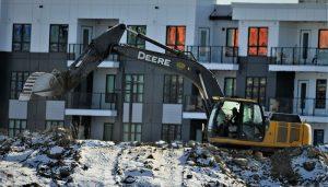 Home demolition in Phoenix
